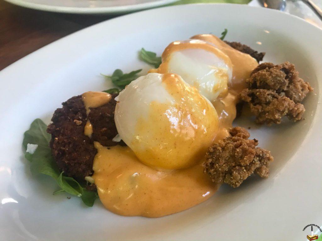 My Favorite Dish at Sassafras in Denver, the Cajun Benedict