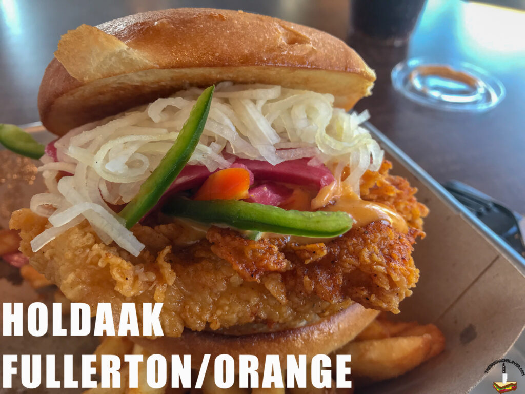 Spicy Chicken Sandwich From Holdaak