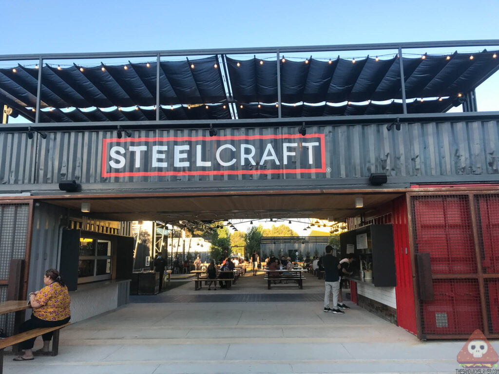 The open air concept at steelcraft in Garden Grove
