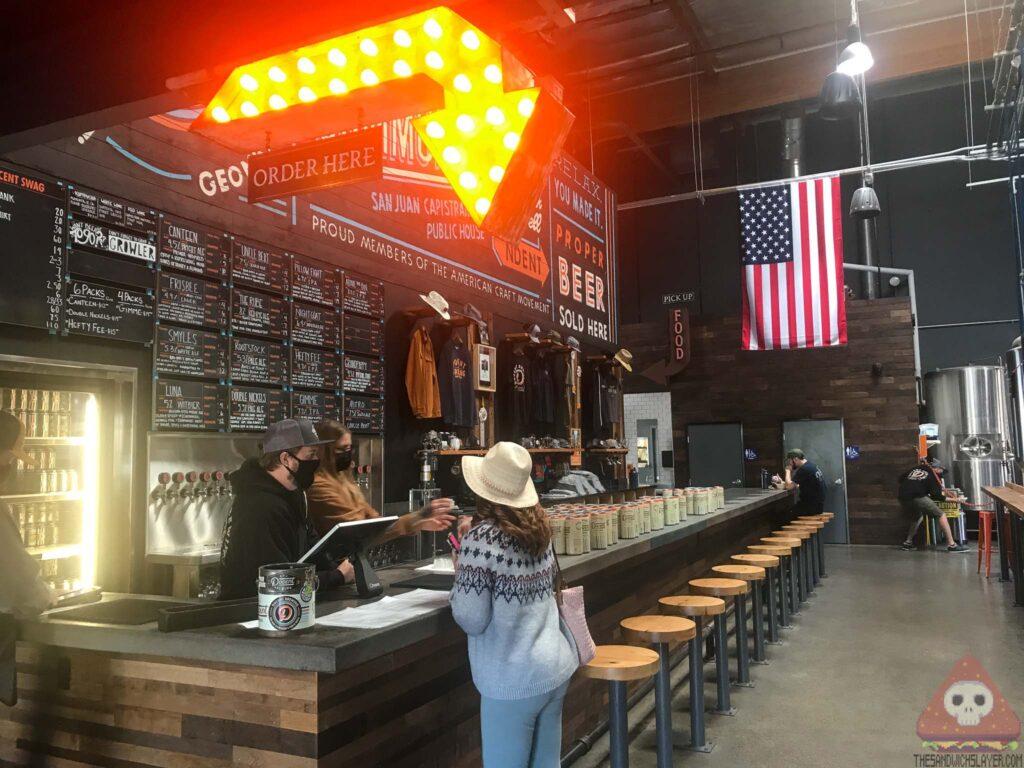 Interior Docent Brewing craft beer bar