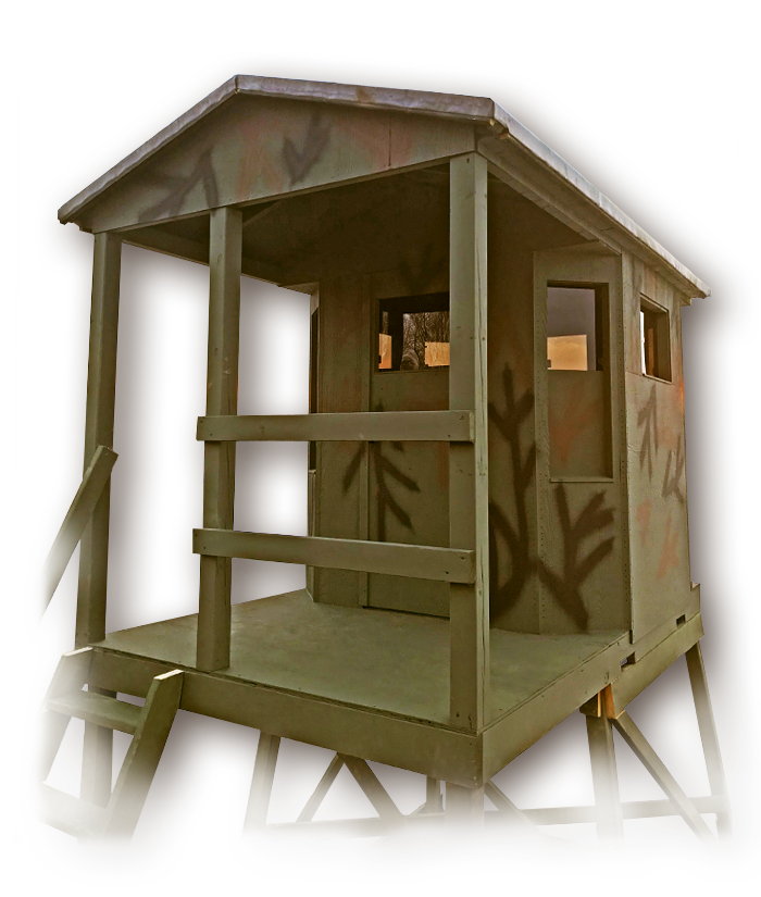 The Porch 6x6 Octagon, Bullets and Bows Edition.