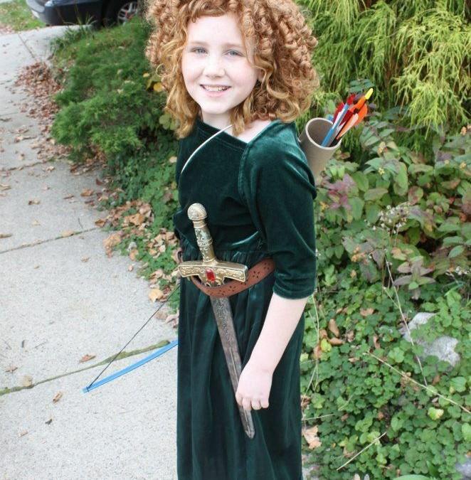 A Fierce Halloween for Girls