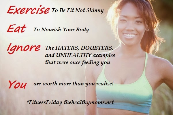 Fitness Motivational Quotes Exercise, Eat, Ignore. You Are Worth More Than You Realise