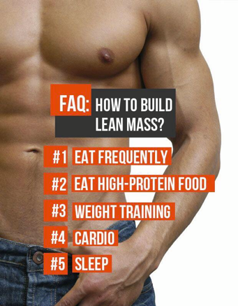 Fitness Motivational Quotes How To Build Lean Mass