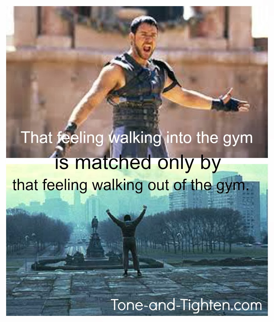Fitness Motivational Quotes The Feeling Walking Into The Gym Is Matched Only By That Feeling Walking Out Of The Gym
