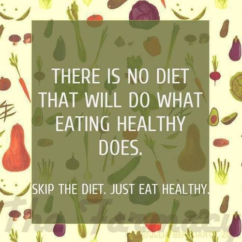 Fitness Motivational Quotes There Is No Diet That Will Do What Eating Healthy Does