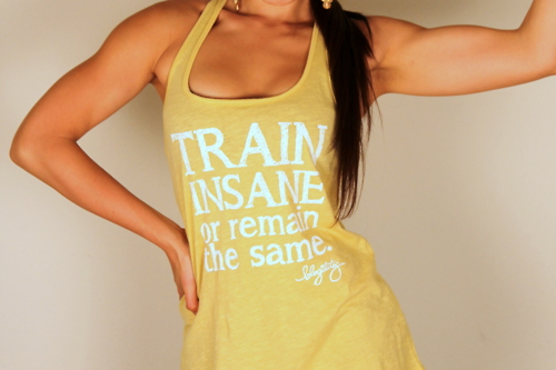Fitness Motivational Quotes Train Insane Or Remain The Same