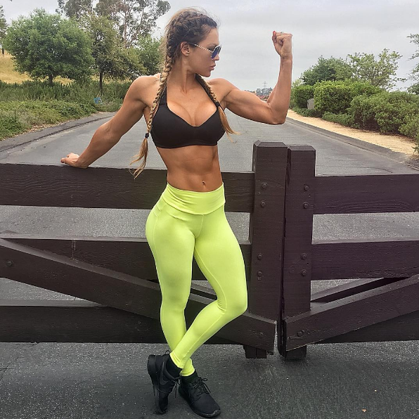 glutes and biceps body motivation