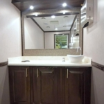 INVENTORY PORTABLE RESTROOM TRAILERS SALE 2 station luxury restroom trailer