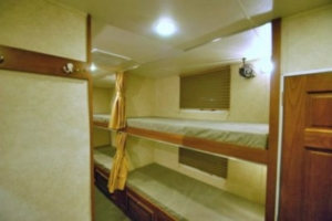 BUNK HOUSE TRAILERS INTERIOR BEDS