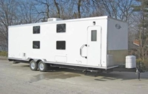oil field trailers exterior bunk house