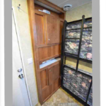 semi trailer conversion with bunk beds
