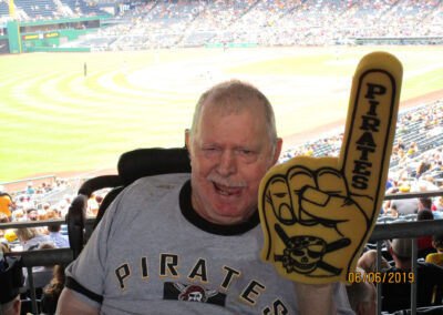 Bob of QLS-Grove City had a fun dream at the ballpark cheering on the Pirates