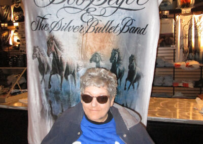 Cathy of QLS-Markleysburg enjoyed her music legend dream at a Bob Seger concert