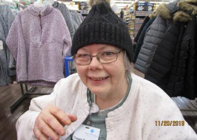 Monica had a blast on her dream shopping trip