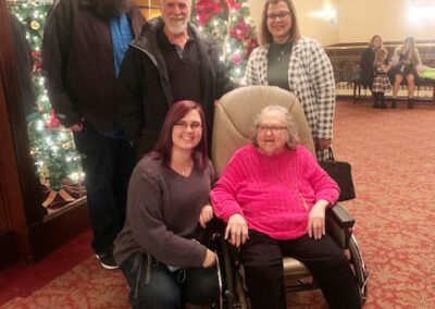 Pat of QLS-Chicora attended Charlie Brown Christmas