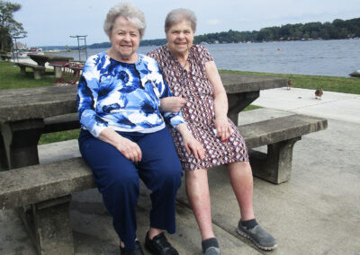 Mary and her sister had a great day in Conneaut, PA