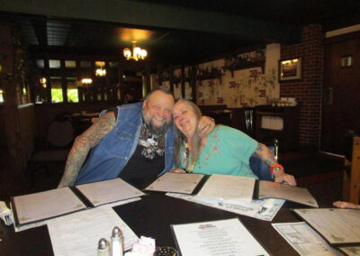Phyllis of QLS-Sugar Creek dined at Garda's Restaurant