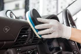Detailing the interior of a vehicle in Grand Rapids Michigan