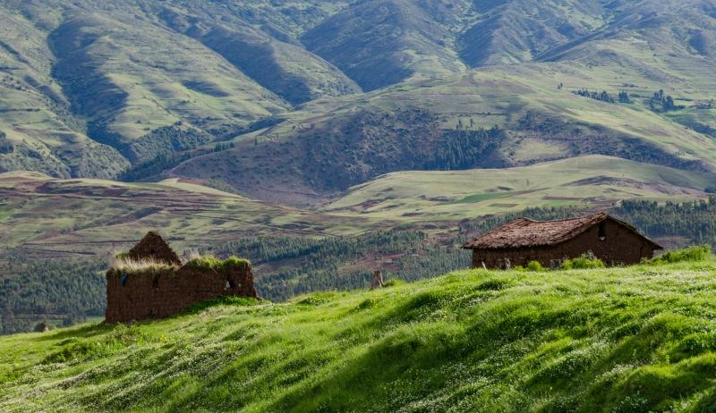 Peru - Town of Zurite