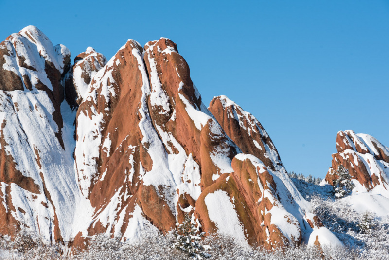 Colorado - Winter at Roxborough State Park