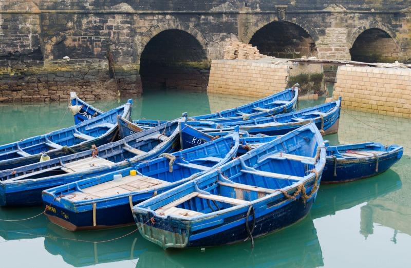 Morocco - Essaouria port