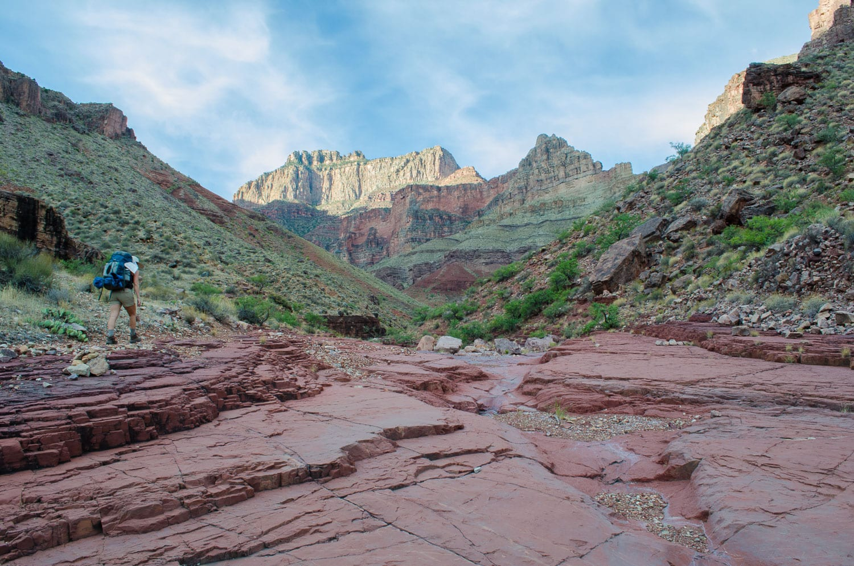 Grand Canyon, backpacking, hiking, camping