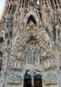 Churches, photography, travel, Barcelona, Gaudi