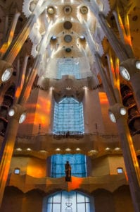 Churches, photography, travel, Barcelona