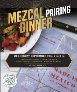 """""""Made in Mexico"""" Chef's Table Dinner @ Tahona Bar"""