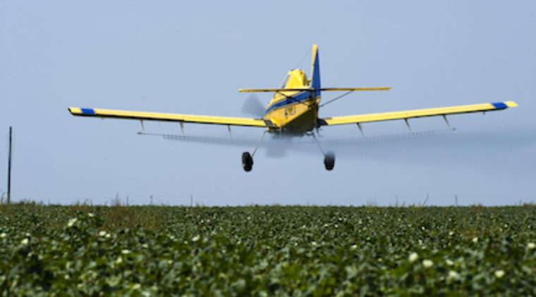 Campbell Vaughn: Crop duster's skill is thrill to watch