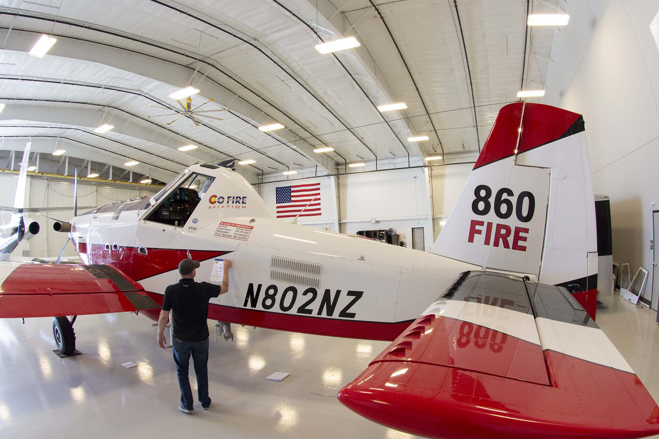 ASU modifies CO Fire AT-802 for first fixed-wing NVG firefighting operations