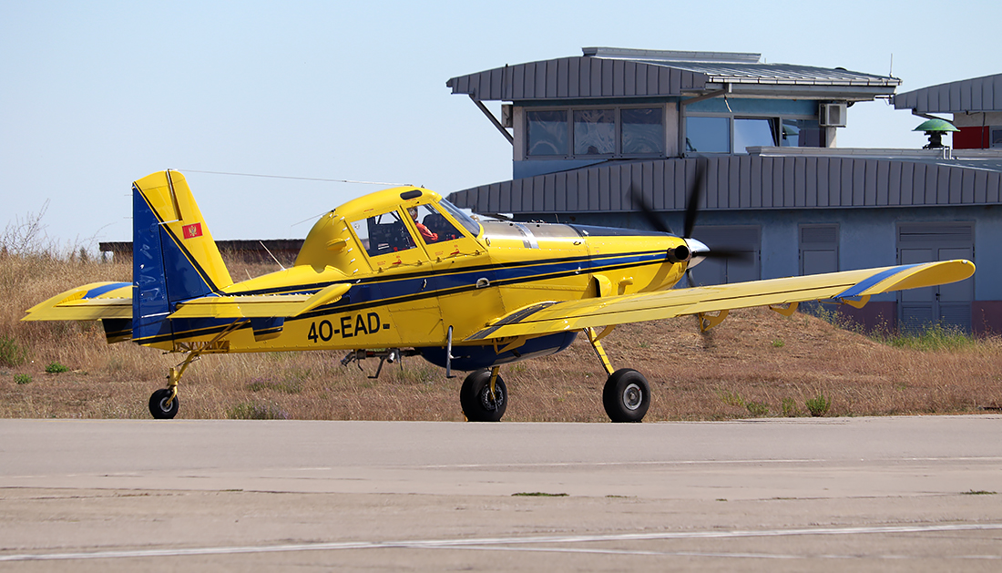 Montenegro Newest AT-802 Shows New Registration