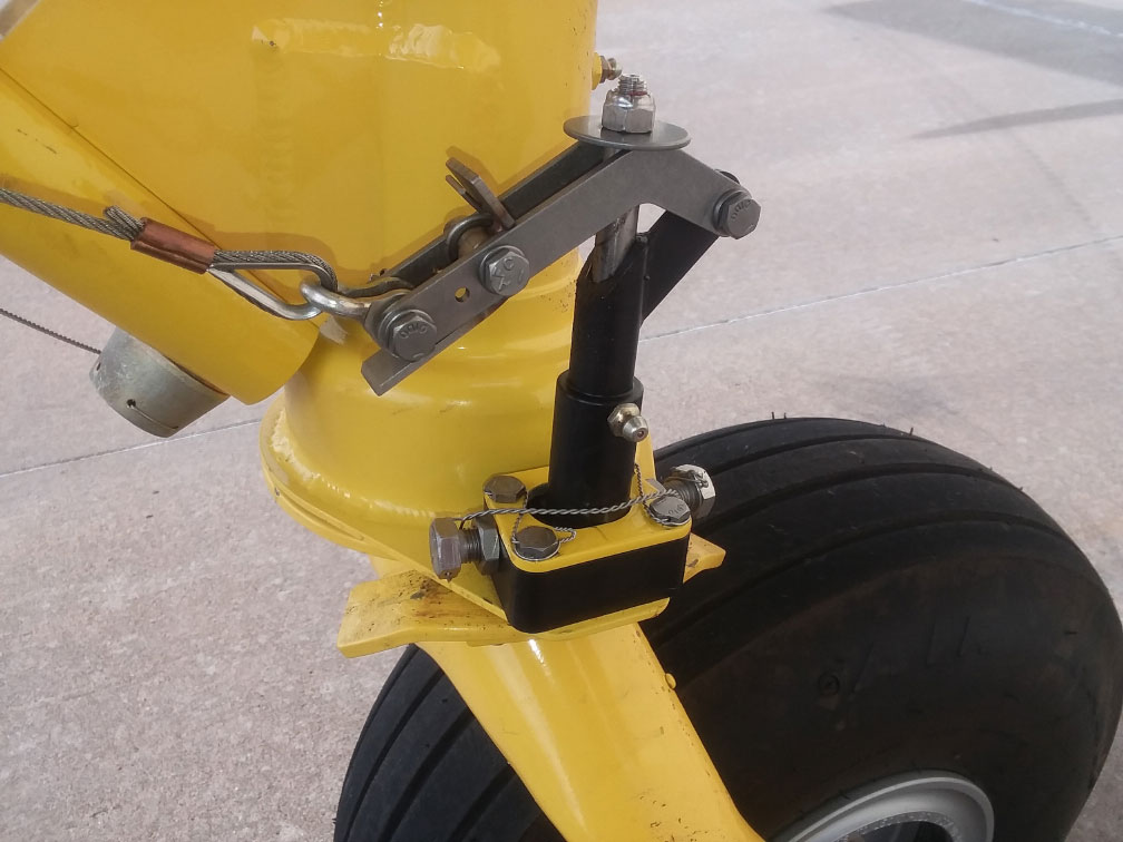 New Air Tractor Tail Wheel Lock