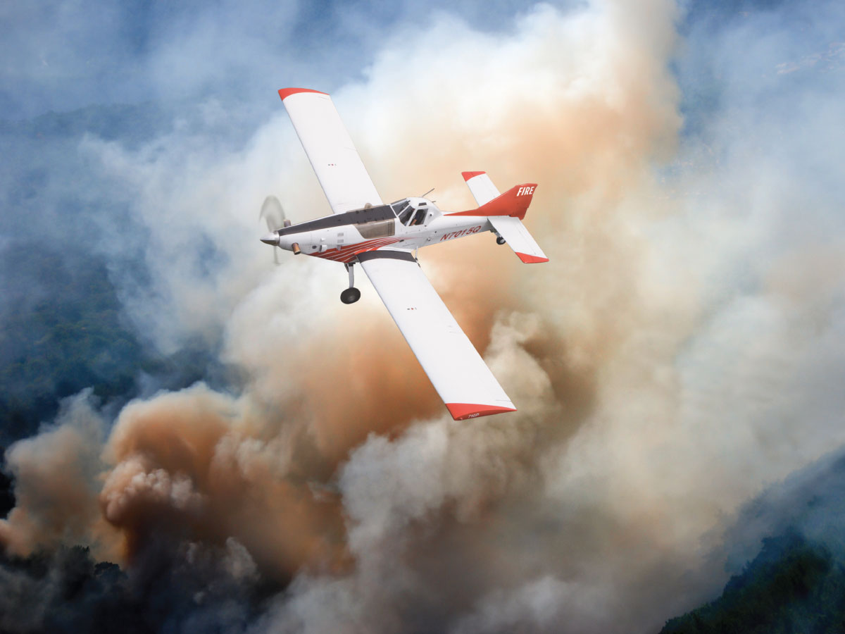 Thrush Introduces the New 710P Fire Bird at NAAA 2018