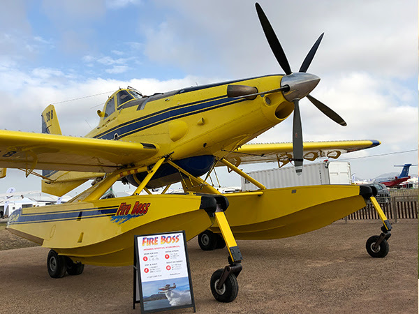 With Record Q1 Sales, Fire Boss Makes Australian Debut at Avalon Airshow