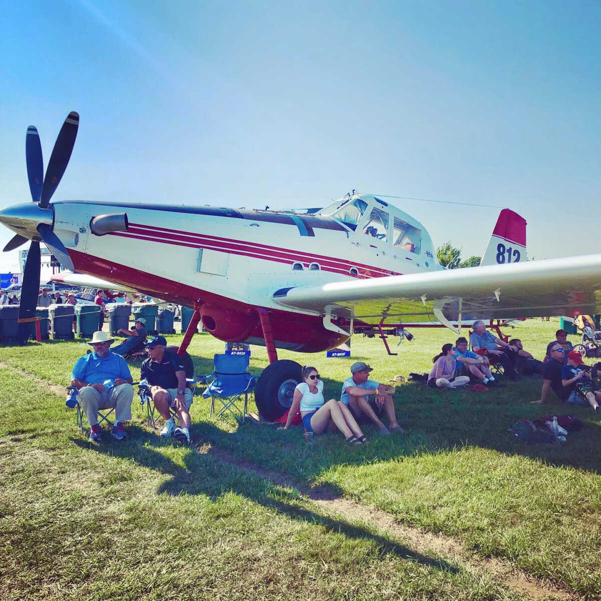 Air Tractor Airplanes at EAA AirVenture Oshkosh 2019