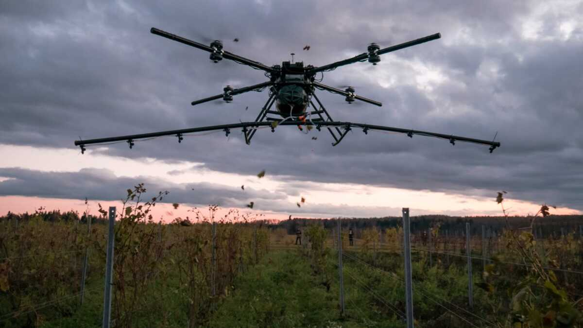 Iowa City Drone Start-Up Gets State, Federal Approval For Aerial Crop Spraying