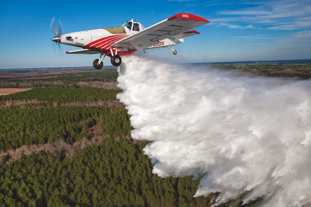 Birtle Crop-Dusters add Firefighting to Their Profile