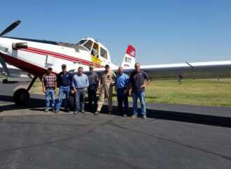 Aero Applicators and Aero Seat Demo Agricultural Aviation to Colorado Senator Cory Gardner