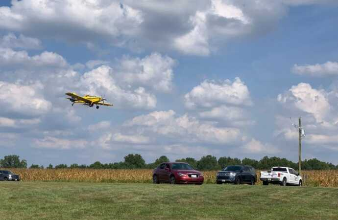 Aerial Seeding: Local Aviation and Agriculture Experts Allay Fears of Mid-Shore Citizens