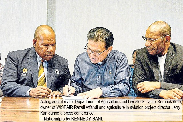 Dept Plans to Roll Out Agriculture in Aviation Project Next Year