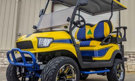 Air Tractor Customized Club Car Up for Auction at NAAA Ag Aviation Expo