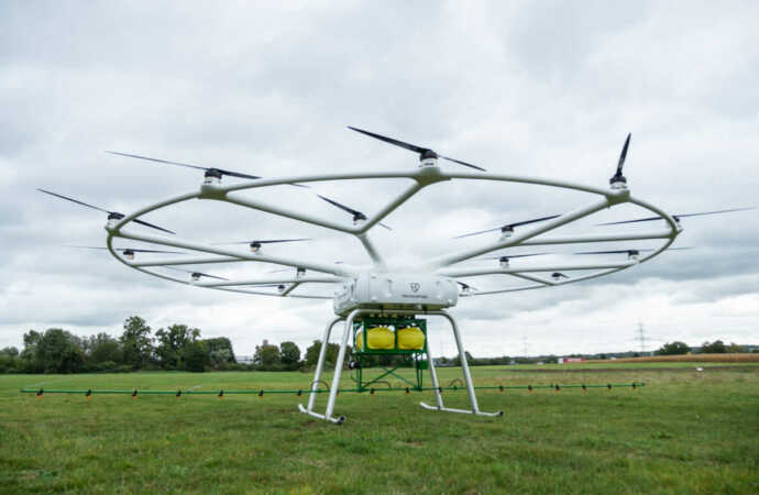 John Deere and Volocopter Cooperate on Heavy-Lift Utility Drone for Agriculture