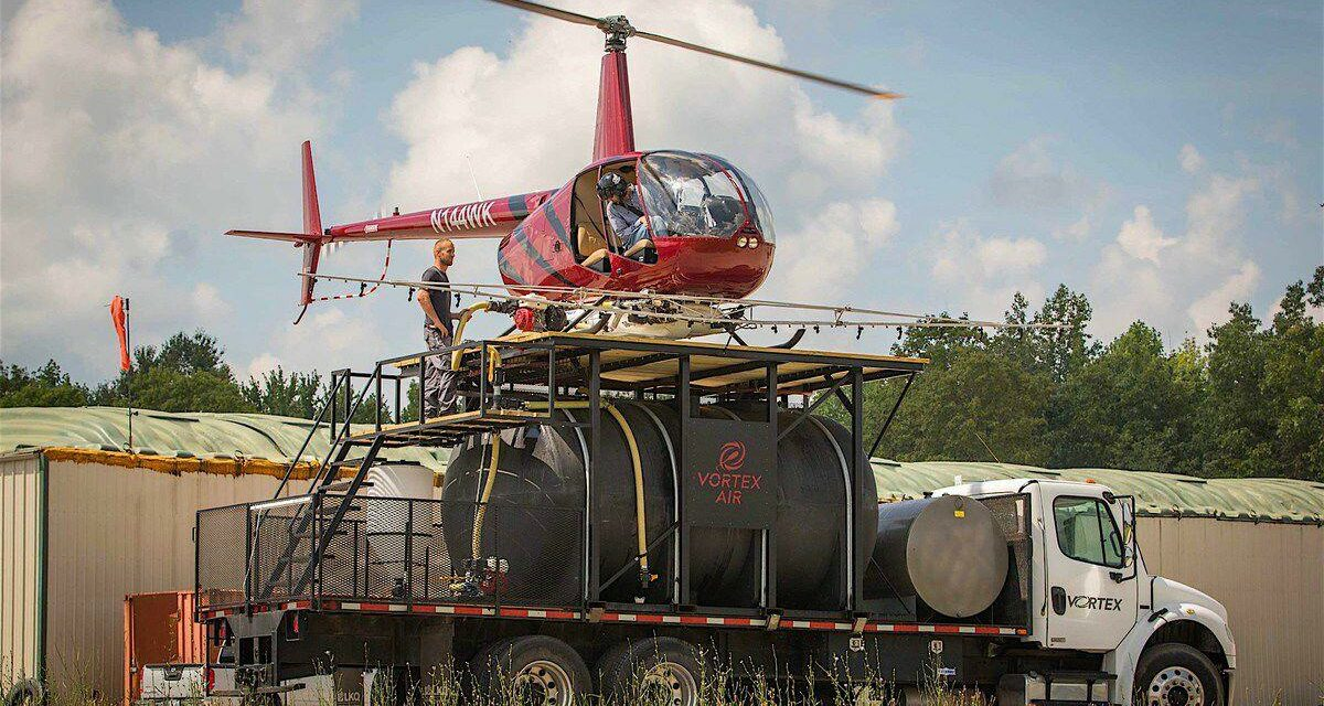 On the Fly: Family Starts New Ag Business With Crop-Dusting Helicopter