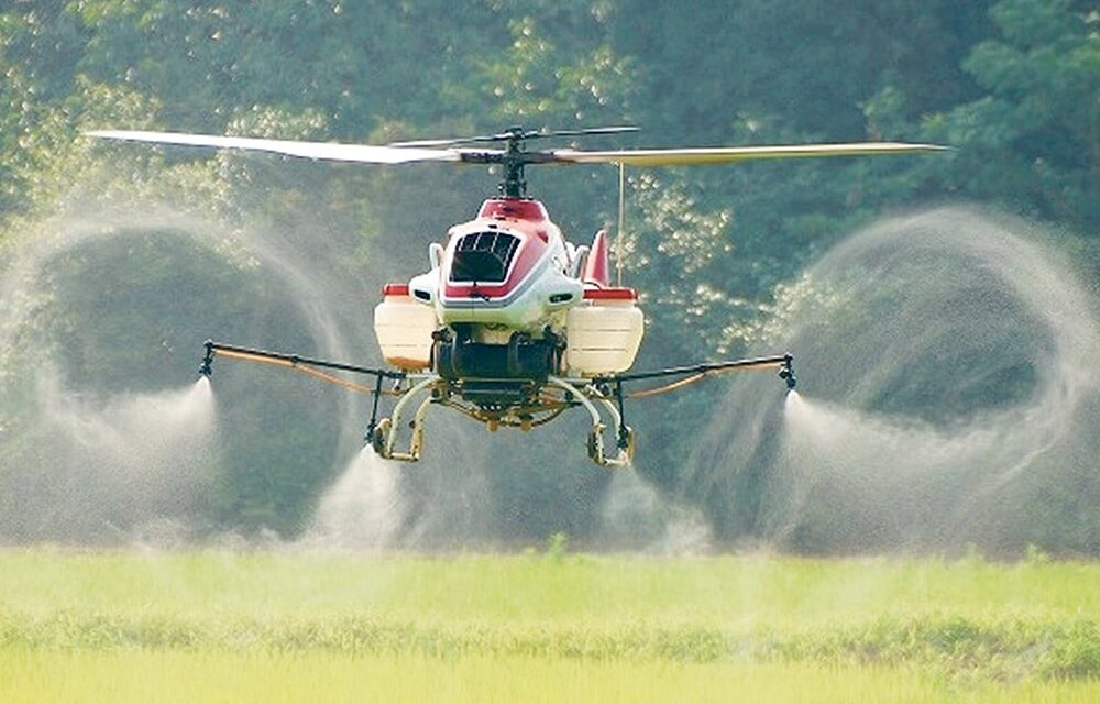 Broad Acre Drone Spraying Unlikely