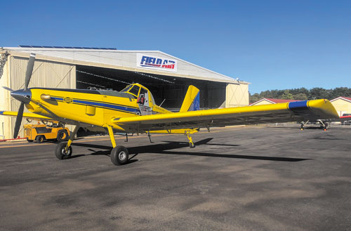 New Zealand's First Air Tractor 502XP Delivered To Super Air Ltd.