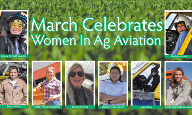 March Celebrates Women in Ag Aviation