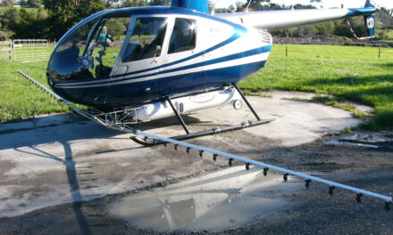 FAA Releases Airworthiness Directive for R-44 with Simplex 244 Spray System
