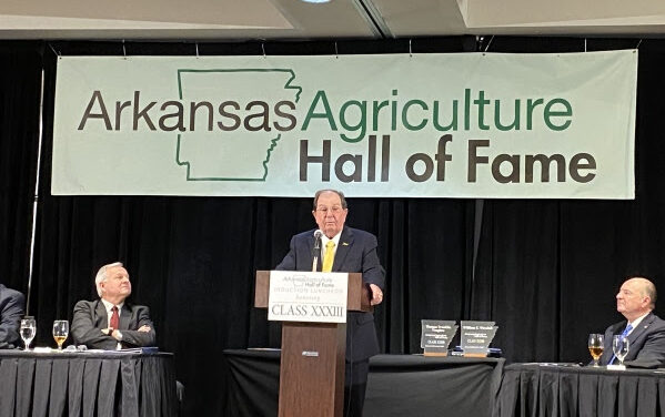 Tidwell Inducted into Arkansas Ag Hall of Fame